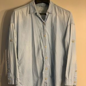 Gap 1969 100% Cotton Denim Button Down